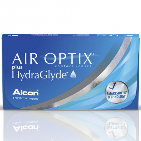 doosje air optix hydraglyde